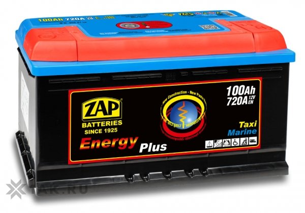 100 Ah ZAP ENERGY PLUS R+