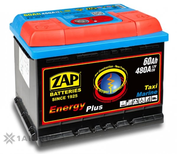 60 Ah ZAP ENERGY PLUS R+